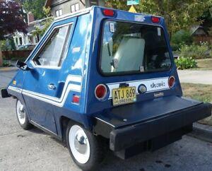 Comuta-Car, CitiCar, Sebring-Vanguard, rear window/hatch hinge, new, original