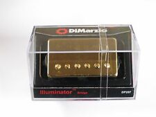 DiMarzio Regular Spaced Illuminator Bridge Humbucker W/Gold Cover DP 257