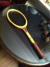 Raqueta de tenis Snauwaert Brian Gottfried Flex nuevo l3 madera New Old Racket Wood
