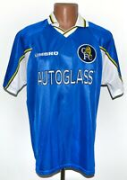 CHELSEA LONDON 1997/1998/1999 HOME FOOTBALL SHIRT JERSEY UMBRO SIZE L ADULT