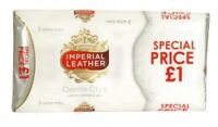 IMPERIAL LEATHER GENTLE CARE MILD FOR SENSITIVE SKIN SOAP 3 X 100G BARS