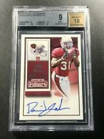 DAVID JOHNSON 2015 PANINI CONTENDERS #209A AUTO ROOKIE RC BGS 9 10