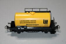 Märklin 2-Achser Wasserwagen Leonhard Weiss Spur H0 #i187