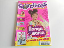 LES P'TITES SORCIERES N° 95 MARS 2008 - MANGA MANIA