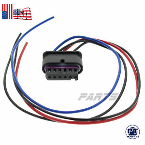For Left / Right  BMW Outer Taillight Holder Wire Harness Pigtail Connector Plug