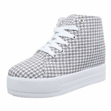 Markenlose Damen-High-Top Sneaker in Größe EUR 37
