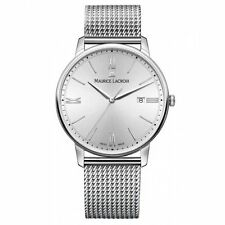 Analoge Maurice Lacroix Armbanduhren aus Silber