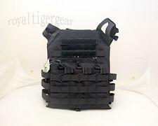 FLYYE MOLLE Swift Plate Carrier JPC Vest - Black size L 1000D CORDURA