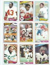 21 Different Alabama Crimson Tide Vintage Alumni Football Cards; 1982-1988