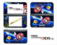 HAUT STICKER AUFKLEBER - NINTENDO NEU 3DS XL - REF 83 MARIO