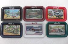 Coca-Cola - SIGNATURE COLLECTION CHANGE TRAYS - USA-anno 1998-6 MINI VASSOI