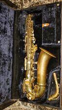 Vtg Conn Shooting Star Alto Sax Saxophone Hard Case Mouthpiece Reeds Ligature !
