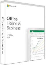 Microsoft Office Home & Business 2019 1 PC /1 Mac Multilingual MS DE EU