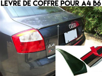 LAME COFFRE SPOILER BECQUET LEVRE AILERON pour AUDI A4 B6 2001-05 SLINE QUATTRO