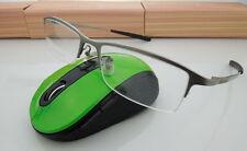 New pure titanium men glasses optical frames spectacle eyeglass frames gun gray