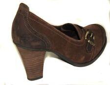 New Timberland Women's EK WINGATE  LFR brown  Pumps 3705R  shoes sz 7 Eu 38