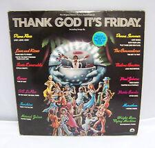 "1978 THANK GOD ITS FRIDAY SOUNDTRACK RECORD ALBUM 2LP SET BONUS 12"" SINGLE DISCO"