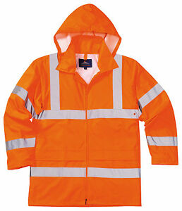 PORTWEST RT50 Sealtex ULTRA JACKET Waterproof Breathable HI VIS Orange | SMALL
