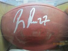 "RAY RICE AUTOGRAPHED WILSON ""DUKE"" NFL FOOTBALL SIGNED BALTIMORE RAVENS-STEINER"
