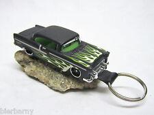 Schlüsselanhänger Chevrolet Bel Air Chevy 1955 Matt Schw. Sonderanfertigung NEU