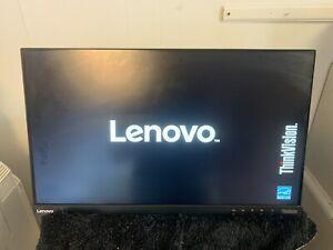 "Lenovo ThinkVision T2364tA 23"" FHD LED Backlit IPS Monitor HDMI DP VGA + AC"