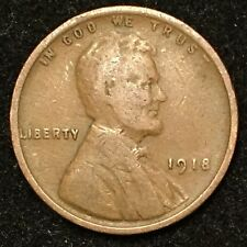 1918 1C BN Lincoln Cent