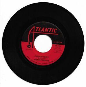 ARETHA FRANKLIN - CHAIN OF FOOLS - ATLANTIC - VG++ CONDITION