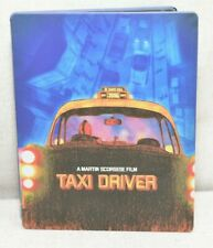Taxi Driver Blu-ray Disc 2014 SteelBook Robert De Niro Martin Scorcese Vgc!
