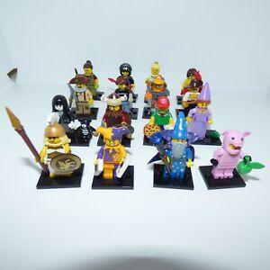 Lego Minifiguren Serie 12 - 71007 - Neu! - Aussuchen! - Versand sparen!