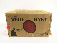 White Flyer Clay Pigeon Target 135 Count All Orange Georgia Pacific New In Box