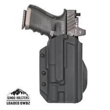 OWB kydex holster w/RTI Hanger Glock w/light TLR-1, X300 Ultra, Inforce APL,PL-2