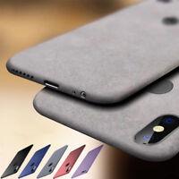For Xiaomi Poco X3 NFC A1 A2 CC9 10T Pro Silicone TPU Sandstone Matte Case Cover