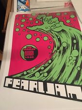 Pearl Jam Poster By Ames Design The Forum, Inglewood ca July 2006 LE Mint