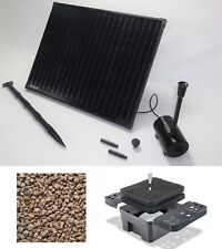 50W Solarpumpe Teichpumpe Gartenteich Solar Bachlauf Filter Pumpe Springbrunnen