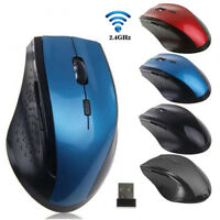 Wireless 2.4GHz Portable Gaming Mouse USB Optical Mice For PC Laptop Computer