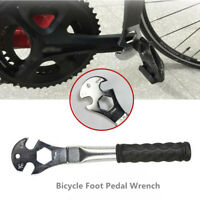 New Professional Bike Bicycle Pedal Spanner Wrench Tools Remover Repair Tool FS