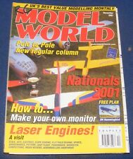 RC MODEL WORLD MAGAZINE MARCH 2000 - DELTA 20 REVIEW