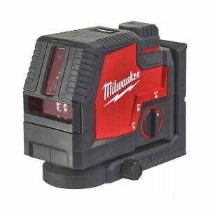 Milwaukee L4 CLL-301C 4v Green Cross Line Laser Inc 1x 3.0Ah Battery 4933478243