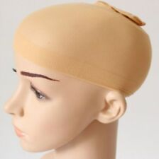 Wig Cap Hair 2 Pack Black & Nude Breathable Stocking Nylon Stretch Liner Unisex