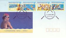 Australia 20 GENNAIO 1994 SALVAVITA UFFICIALE PRIMO GIORNO DI COPERTURA SHS