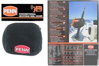PENN Conventional Neoprene Multiplier Fishing Reel Cover / Case - All Sizes