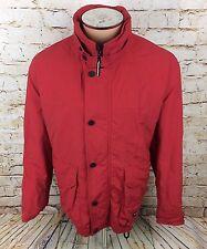 Hugo Boss Sport Over Coat Jacket Red Sz 050 / 2XL / XXL Mens