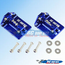Traxxas M41 widebody upgrade CNC trim tabs Blue