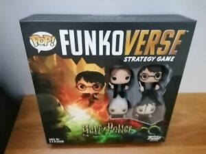 FUNKOVERSE STRATEGY GAME - HARRY POTTER 4 PACK #100
