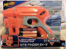SEALED Nerf N-Strike Light-Beam Targeting Nite Finder EX-3 Blaster, BRAND NEW!