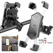 360 Rotation Bicycle Motorcycle Bike Cell Phone Holder Handlebar Mount Universal