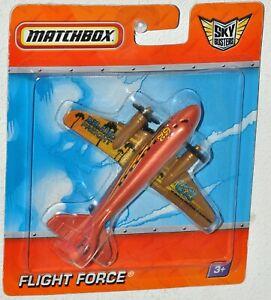 Matchbox Sky Busters 2010 Island Freight Flight Force MOC R0684