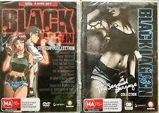 Black Lagoon - Season One and The Second Barrage Collection. Brand New. Region 4