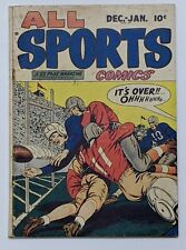 All Sports Comics #2 (Jan 1949, Hillman) G/VG 3.0 Bob Powell Bernie Krigstein