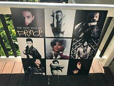 The Very Best Of Prince Large Foam Core 36X36 Promo Poster Scarce Promo Best Of